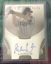 JC)  2013 Bowman Sterling Prospect Autographs #RU Riley Unroe AUTO RAYS - $3.30