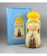Shining Light Doll Our Lady of Mount Carmel Collectible Vinyl Story Pray... - $13.31