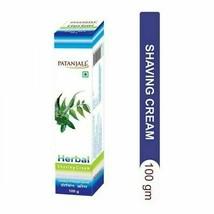 Patanjali Herbal Shaving Cream with Neem, Tulsi & Aloe Vera,100gm (Pack ... - $6.79