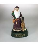"Vintage Italy Santa Ceramic Statue 9"" tall - $24.75"