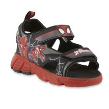 NEW NWT Boys Toddler Sandals Disney Marvel Spider Man Size 6 7 8 9 10 or 11 - $19.99