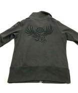 Harley Davidson Full Zip Sweater Jacket Women's Size Large L Sweatshirt ... - $21.87