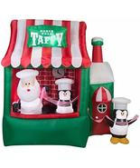 Gemmy 7.25' Animated Airblown North Pole Taffy Stand Christmas Inflatable - $199.95
