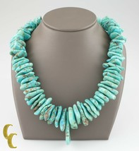 Turquoise & Coque Long Naturel Collier - €1.458,99 EUR