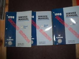 1998 PONTIAC GRAND PRIX Service Shop Manual Set 2ND EDITION W TRANS UNIT... - $138.55