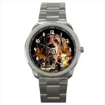 Watch sport metal cujo horror saint bernard dog stainless steel wristwatch - $21.00