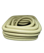 Vacuum Cleaner Hose 1 1/4 50' Wire Reinforced Beige - $85.00