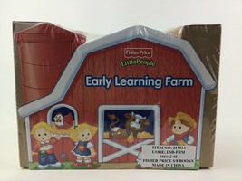 Fisher Price Farm Toddler Board Books 8 Mini Little People Early Learning Sealed - $23.12