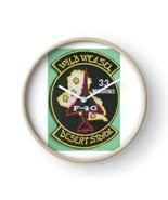 USAF WILD WEASEL, DESERT STORM, 33 MISSIONS, F-4G Phanton Wall Clock - $69.29