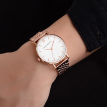 Lvpai® Luxury Watch Rose Gold Classic Stainless Steel Dress Quartz Alloy image 3