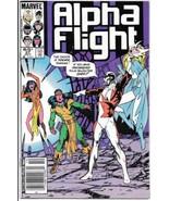 Alpha Flight Comic Book #27 Marvel Comics 1985 NEAR MINT - $3.50