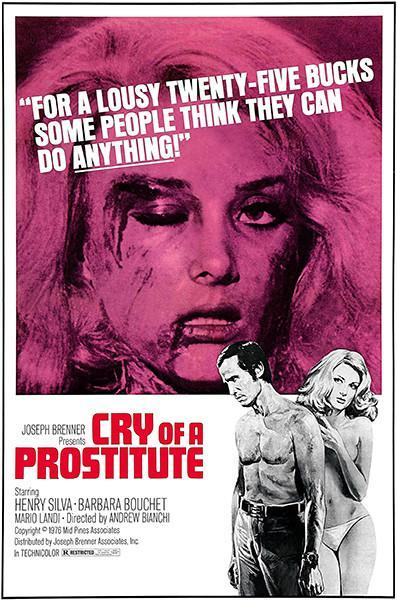 Primary image for Cry Of A Prostitute - 1974 - Movie Poster