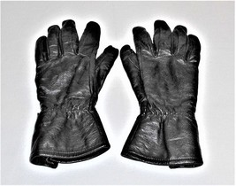 Vintage BMW Black Leather Lined Motorcycle Gloves Size 8-8.5 READ - $922,03 MXN