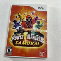 Power Rangers Samurai (Nintendo Wii, 2011) Complete in Case w/ Manual - $9.89