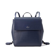 NWT KATE SPADE NEW YORK Somerville Road MEGYN Backpack Smooth Leather Bl... - $160.38