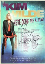 Kim Wilde Autograph *Kids in America* Hand Signed 8x6 Tour Flyer - $27.00