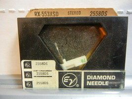 Electro Voice stereo diamond needle 2558DS~RX-553XSD,563-DS73,590SD,W-17... - $19.99