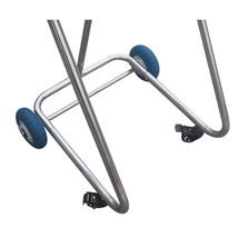 Stainless Steel Boat Outboard Motor Stand Cart Dolly With Wheel Enginee Carrier image 6