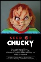 Seed of Chucky: Chucky Mask Horror Costume Accessory Halloween Doll - $37.11