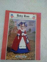"15""FASHION DOLL BETSY ROSS CROCHET COSTUME PATTERN LEAFLET FCM202,FIBRE ... - $4.94"