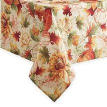 Thanksgiving FabricTablecloth Autumn Sunflower Festival Fall New Choose ... - $27.23+