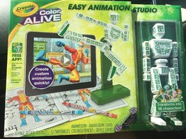 Crayola EASY ANIMATION STUDIO Imagine Design Create Real 3D Graphics Col... - $13.86