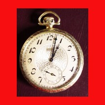 1923 Elgin Pocket Watch with Watch Case Dueber Warranteed 25 Year -101*5a - $110.88