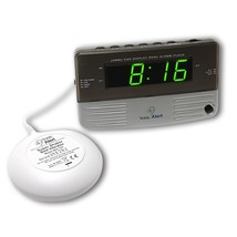 Alarm Clock, Sonic Alert Sb200ss Digital Home Bedside Small Loud Alarm C... - €54,51 EUR