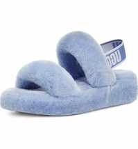 UGG Oh Yeah Slide Cornflower Women's Sheepskin Slipper Sandals 1107953 - $97.00