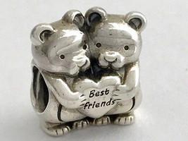 Authenthisch Pandora Best Buddies Sterlingsilber Charm, 792151 Neu - $52.23