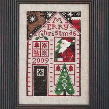 2009 Must Be Santa Limited Edition cross stitch chart Prairie Schooler  - $6.00