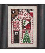 2009 Must Be Santa Limited Edition cross stitch chart Prairie Schooler  - $6.00