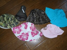 Lot of 6 hats for women foldable packable trave... - $25.98 CAD