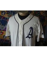 Vintage Philadelphia Athletics Cooperstown Collection Starter MLB Jersey L - $197.99
