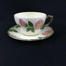 Excellent Large Franciscan Desert Rose, Oversized Cup / Saucer - $45.00