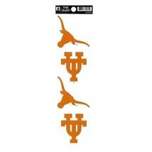 texas longhorns ncaa college logo ncaa college quad sticker decal usa made - $18.04