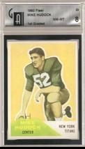 1960 Fleer #23 Mike Hudock Compare to PSA / GAI 8 - $14.50