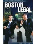 Boston Legal - Season 2 (DVD, 2006, 7-Disc Set) - ₹1,315.89 INR