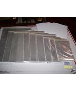 5   20 X 24 ACID FREE  ARCHIVAL STORAGE CELLOPHANE ENVELOPE W FLAP  23 2... - $26.72