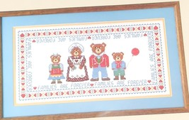 Families Are Forever Picture Something Special Counted Cross Stitch New No.50224 - $9.89