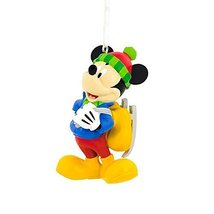 Hallmark Disney Mickey Mouse With Skate Christmas Ornament Cake Topper D... - $18.45 CAD