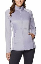 32 Degrees Cool Mixed Media Light weight Jacket (Small) Lavender - $24.99