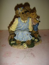 Boyds Bearstone Momma McBruin With Munchkin .. I Love You - $15.49