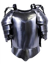 NauticalMart Medieval Shoulder Guard Steel Breastplate Armour Suit  - $199.00