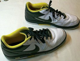 Nike Air Prestige III Men's Size 15 386114-117 White Black Yellow Very Good Used - $36.59