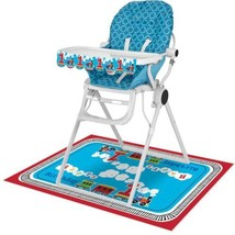 All Aboard! Train 1st Birthday Party 2 pc High Chair Decorating kit - $6.55