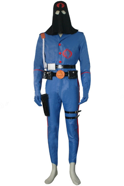 G.I.Joe Cobra Commander Cosplay Costume