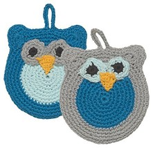 Now Designs Animal Tawashi Scrubbers, Oliver Owl - $10.07