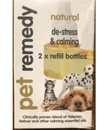 Pet Remedy Refill Natural Stress Reliever Calming Relaxation 2 Refill Bo... - $21.28