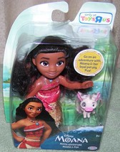 "Disney Petite MOANA & PUA 6"" Doll New - $16.88"